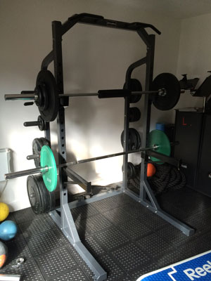 Squat Rack - Personal Training Studio Walthamstow